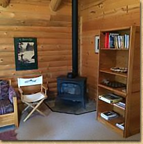 Our comfortable log-style cabins
